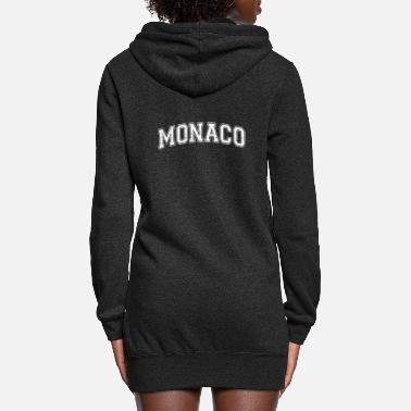 Monaco Monaco City State Country in Europe - Women's Hoodie Dress