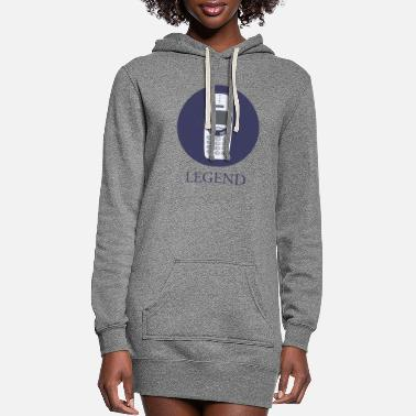 Mobile Phone mobile phone legend - Women's Hoodie Dress
