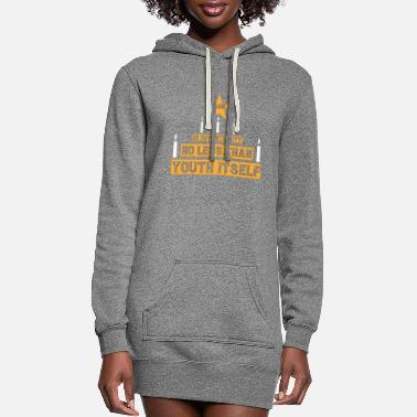 Specific Age Age is opportunity - Women's Hoodie Dress