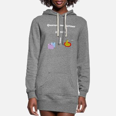 Restroom Quarantaene Partner gesucht - Women's Hoodie Dress