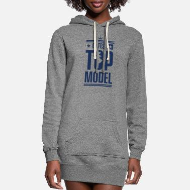 Model Modeling Modeling Modeling Modeling - Women's Hoodie Dress