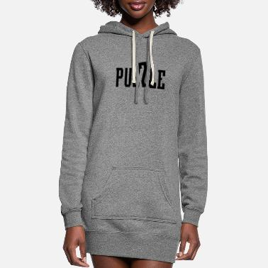 Puzzle Puzzle Puzzles - Women's Hoodie Dress