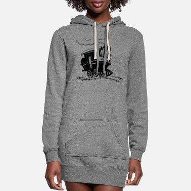 Bnsf train - Women's Hoodie Dress