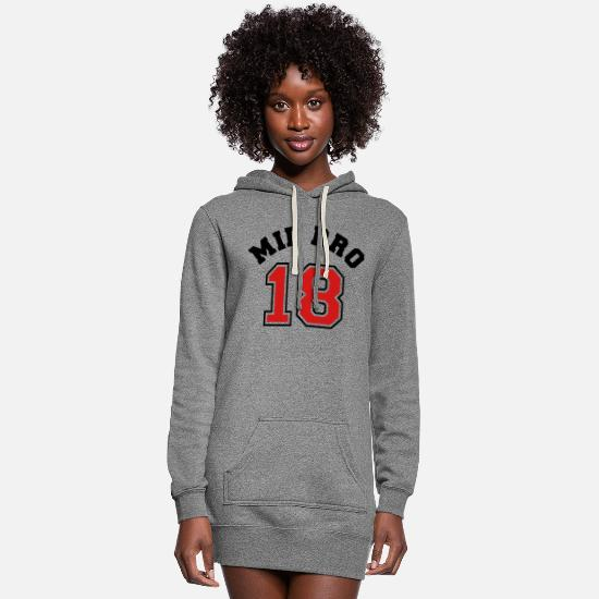 Www Hoodies & Sweatshirts - Mid Bro 18 - 2018 - Pregnancy - Baby - Family www - Women's Hoodie Dress heather gray