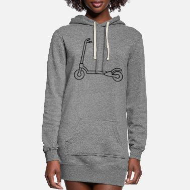 Scooter a scooter - Women's Hoodie Dress