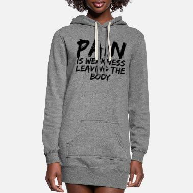 Pain Pain - Women's Hoodie Dress