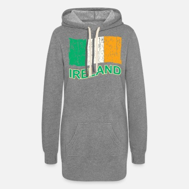 Ireland IRELAND FLAG - Women's Hoodie Dress