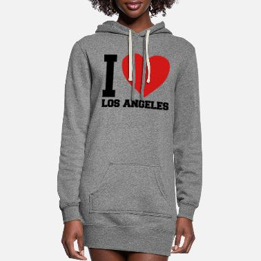 Love i love LA - Women's Hoodie Dress