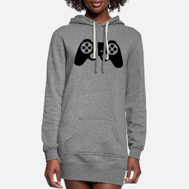 Controller Controller - Women's Hoodie Dress