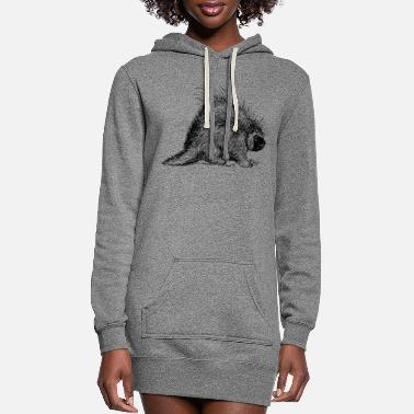 Rodent porcupine rodent - Women's Hoodie Dress
