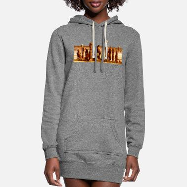 Statue statue - Women's Hoodie Dress