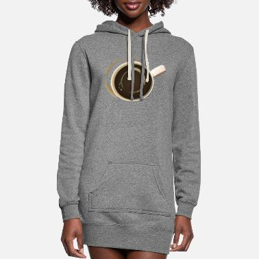 Off Alien Cuppa Joe - Woman's Tee - Women's Hoodie Dress