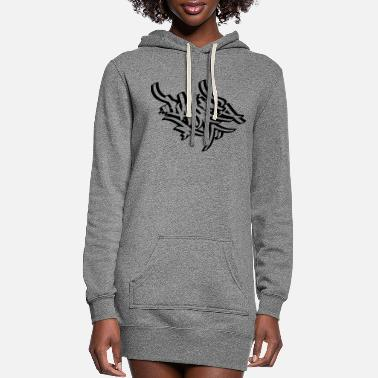 Tag Tagging - Women's Hoodie Dress