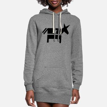 Democrat Democrat - Women's Hoodie Dress