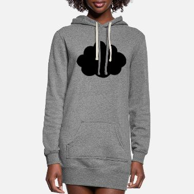 Cloud This is a Cloud - Women's Hoodie Dress