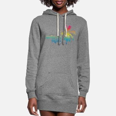 Caribbean caribbean - Women's Hoodie Dress