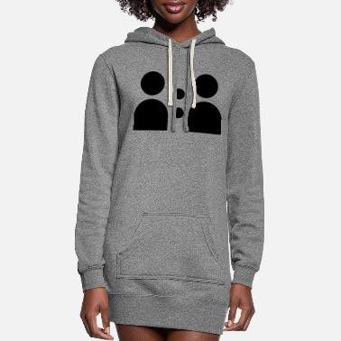 Social SOCIAL - Women's Hoodie Dress