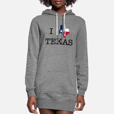 Texas I Texas Texas - Women's Hoodie Dress