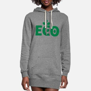 Eco eco - Women's Hoodie Dress