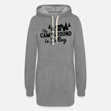 Campground The Campground Is Calling - Women's Hoodie Dress