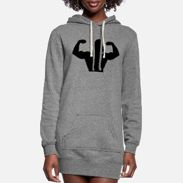 Muscle muscle - Women's Hoodie Dress
