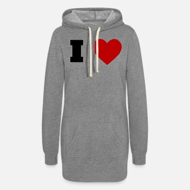 I Love I Love - Women's Hoodie Dress