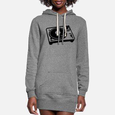 Turntable Turntable - Women's Hoodie Dress