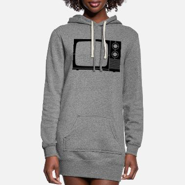 Tv tv - Women's Hoodie Dress