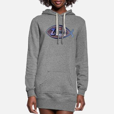 Jesus JESUS FISH ZEVCOROD LOGO - Women's Hoodie Dress