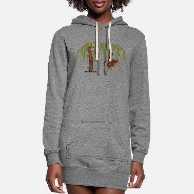 Over Over there - Women's Hoodie Dress