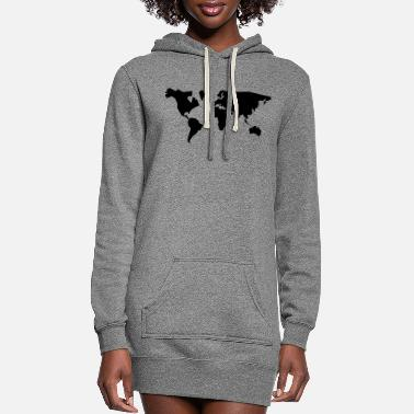 Geographic geographic - Women's Hoodie Dress