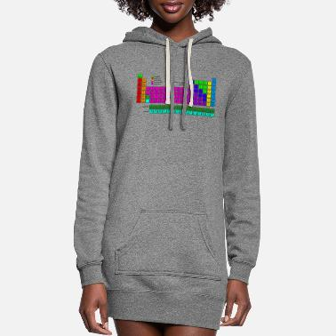 Periodic Table Periodic Table - Women's Hoodie Dress