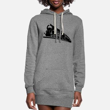 Bnsf train engine - Women's Hoodie Dress