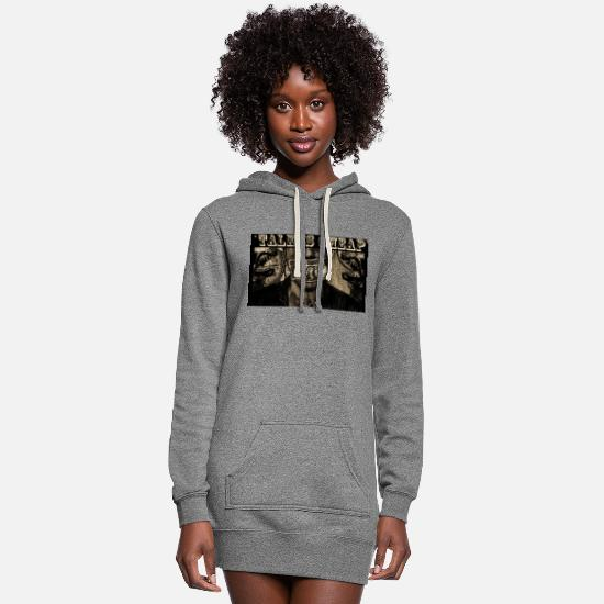 Money Hoodies & Sweatshirts - JUDGED; TIC - Women's Hoodie Dress heather gray