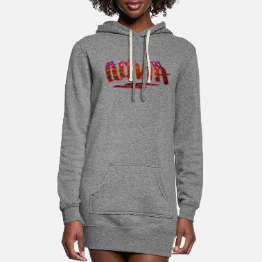 Birth Name Olivia Name Design - Women's Hoodie Dress