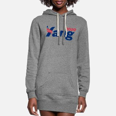 Philanthropist Yang For President 2020 - Women's Hoodie Dress