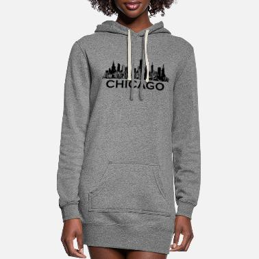 Chicago chicago - Women's Hoodie Dress