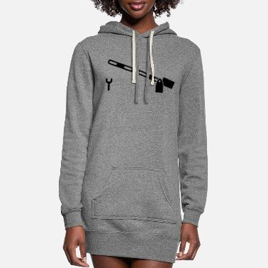 Gate Railway gate - Women's Hoodie Dress