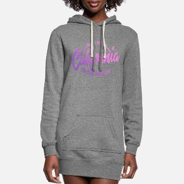 Beach California Good Vibes Surfing Paradise - Women's Hoodie Dress