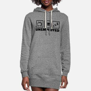 Unemployed Unemployed - Women's Hoodie Dress
