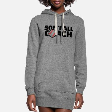 Softball Softball - Women's Hoodie Dress