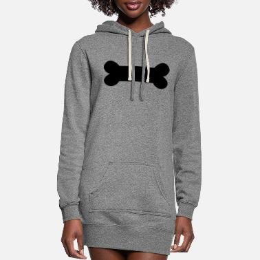 Bone Bone - Women's Hoodie Dress