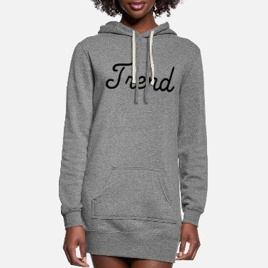 Trending Trend - Women's Hoodie Dress