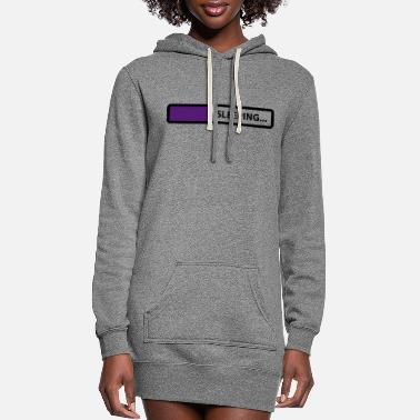 Sleeping sleeping - Women's Hoodie Dress
