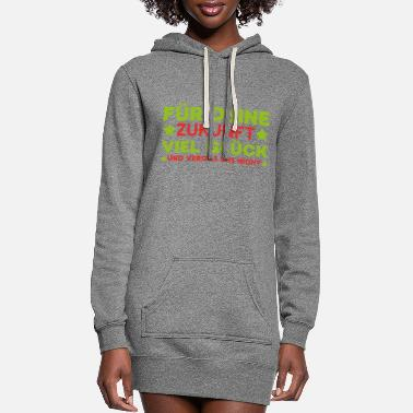 Office Humor Future farewell colleague work gift - Women's Hoodie Dress