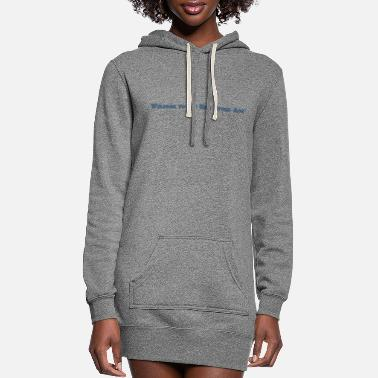 New Age Welcome New Stone Age - Women's Hoodie Dress