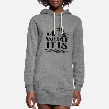 Quotes Quotes - Women's Hoodie Dress