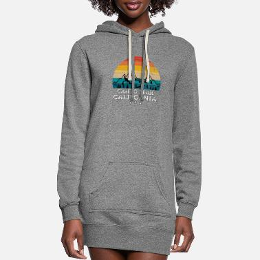 Mountain Peak CAHTO PEAK California - Women's Hoodie Dress