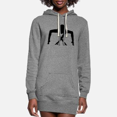 Exercise exercise - Women's Hoodie Dress