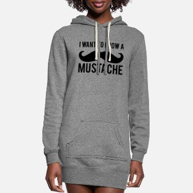 Mustache Mustache - Mustache - Women's Hoodie Dress